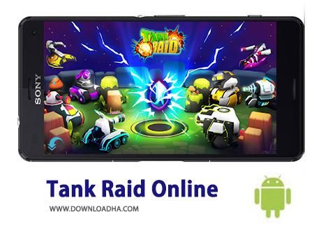 کاور-Tank-Raid-Online