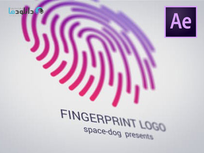 پروژه-افتر-افکت-fingerprint-logo-after-effect