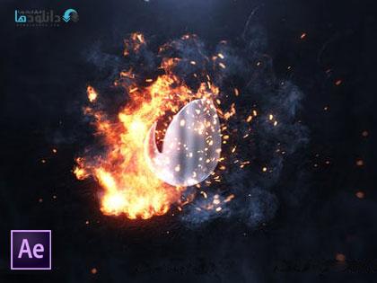 پروژه-افتر-افکت-fireswirl-logo-after-effect