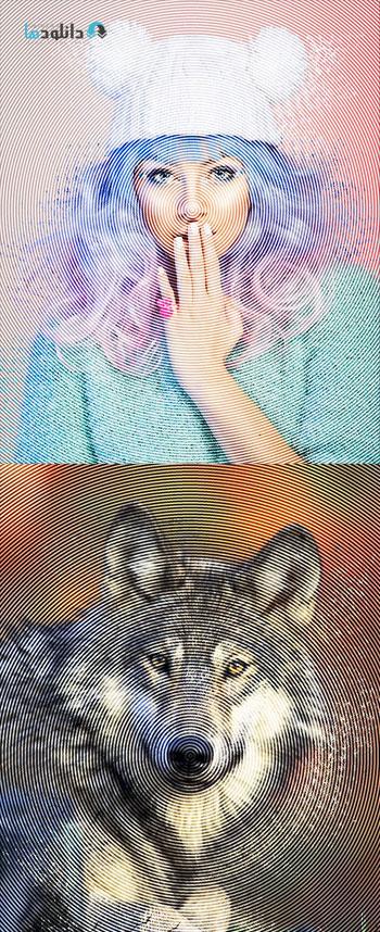 اکشن-فتوشاپ-frequency-photoshop-action