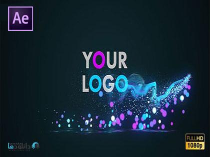 پروژه-افتر-افکت-glow-particles-logo-after-effect