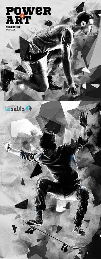 اکشن-فتوشاپ-power-art-2-photoshop-action