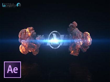 پروژه-افتر-افکت-short-explosion-logo-after-effect