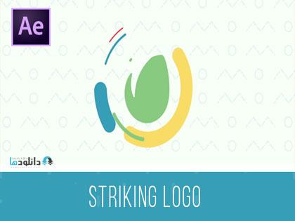 پروژه-افتر-افکت-striking-logo-intro-after-effect