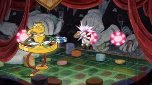 لقطة شاشة لقطة من لعبة Cuphead