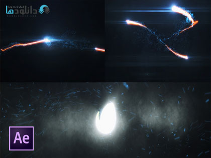 پروژه-افتر-افکت-energy-particle-blast-logo-reveal