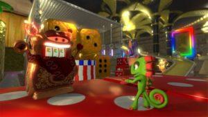 لقطة شاشة-لعبة- Yooka-Laylee
