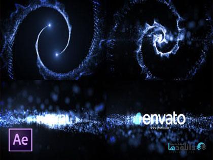 پروژه-افتر-افکت-logo-reveal-particle