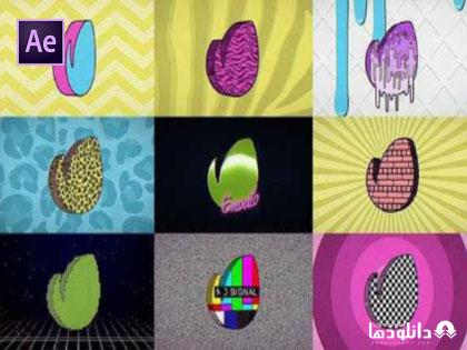 پروژه-افتر-افکت-80s-retro-tv-logo