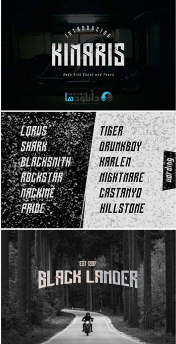 فونت-انگلیسی-kamaris-font