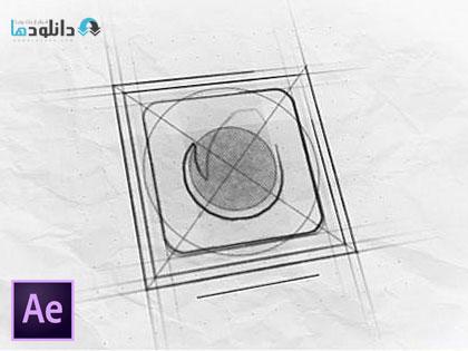 پروژه-نمایش-لوگو-افتر-افکت-Sketch-Logo-Reveal