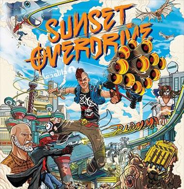 موسیقی-متن-بازی-sunset-overdrive-soundtrack