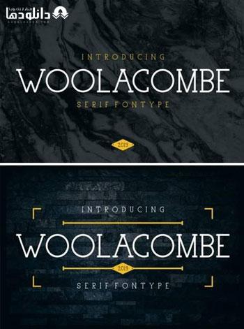 فونت-انگلیسی-woolacombe