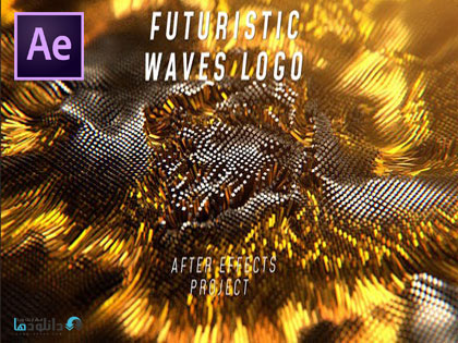پروژه-نمایش-لوگو-Futuristic-Waves-Logo