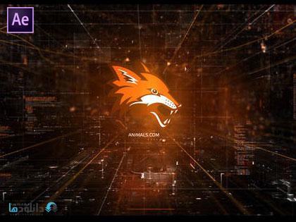 پروژه-نمایش-لوگو-Cyber-Logo-Reveal