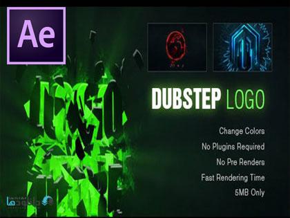 پروژه-نمایش-لوگو-Dynamic-Dubstep-Logo