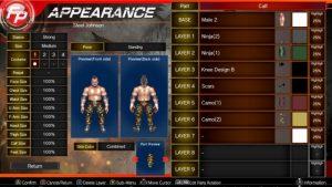 اسکرین-شات-بازی-Fire-Pro-Wrestling-World