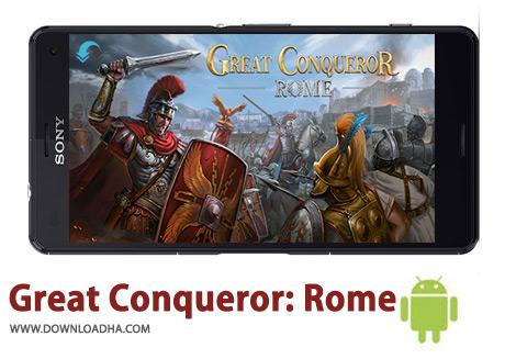 کاور-Great-Conqueror-Rome