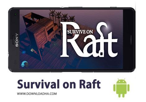 کاور-Survival-on-Raft