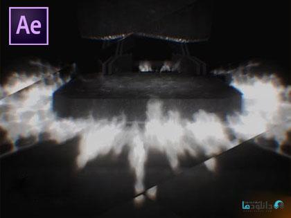 پروژه-نمایش-لوگو-blacksmith-logo-reveal