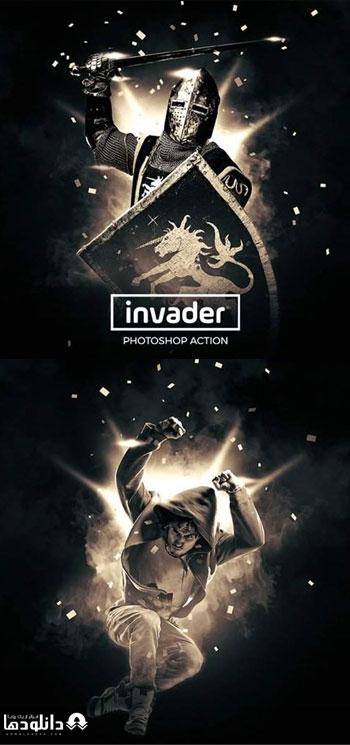اکشن-فتوشاپ-invader-photoshop-action
