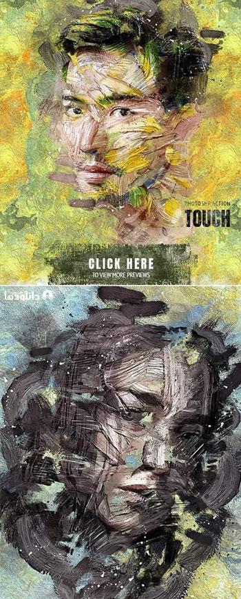 اکشن-فتوشاپ-touch-photoshop-action