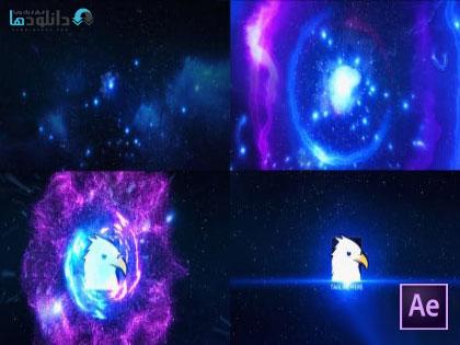 پروژه-افتر-افکت-Space-Explosion-Logo-Opener