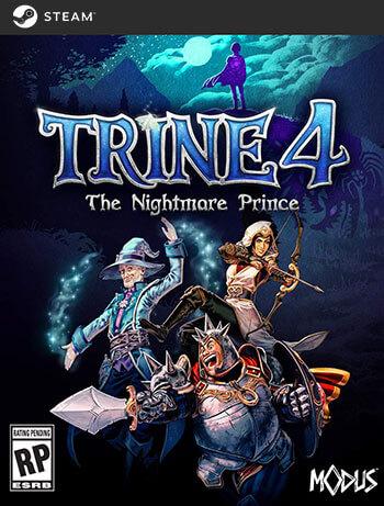 دانلود بازی Trine 4 The Nightmare Prince برای کامپیوتر