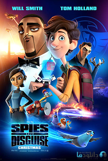انیمیشن-Spies-in-Disguise-2019