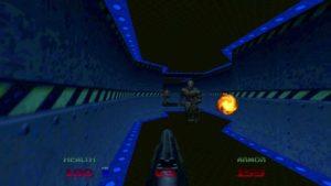 لقطة شاشة لعبة DOOM-64