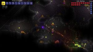 لقطة من لعبة Terraria