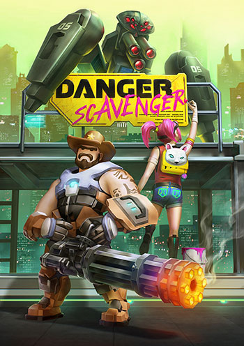 Danger Scavenger game, Danger Scavenger game preview, Download Danger Scavenger, Download Danger Scavenger for pc, Download Danger Scavenger game, Download action game with cartoon graphics, Download action game for PC, Download top-down shooter game