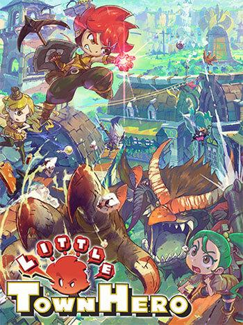 دانلود بازی Little Town Hero برای کامپیوتر – نسخه فشرده FitGirl