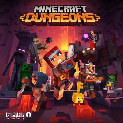 موسیقی-متن-بازی-Minecraft-Dungeons