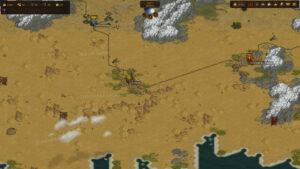 صور-لعبة-معركة-الاخوة-اشتعلت فيه النيران-الصحاري