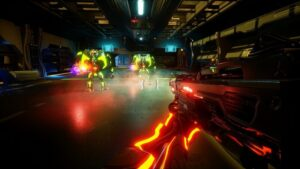 PositronX game preview, download PositronX game, download high graphics action game for pc, download perma death style game for pc, download direct PositronX game, download GOG version of PositronX game, watch PositronX game trailer, review PositronX game