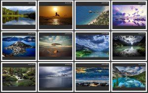 تصاویر-والپیپر-مناظر-آبی