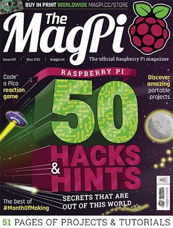 دانلود مجله The MagPi – می ۲۰۲۱
