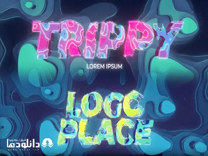 لوگو-موشن-trippy-opener-logo-title