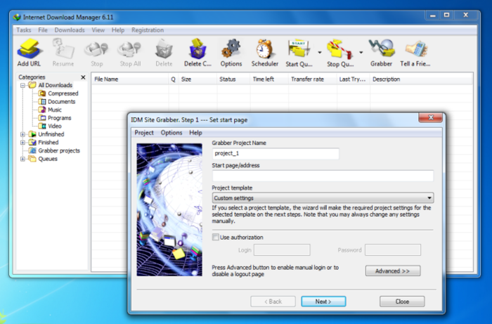 دانلود منیجر Internet Download Manager IDM